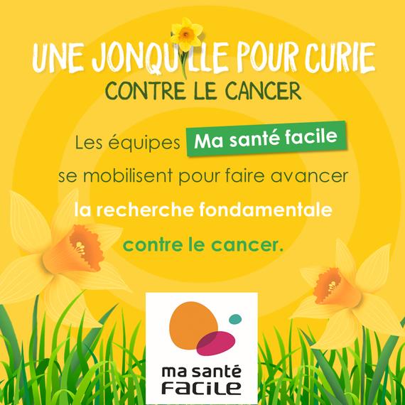 L'équipe Siège Ma santé facile s'engage contre le cancer