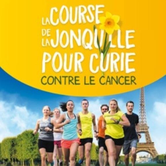 Faisons fleurir l'espoir ! Je cours pour l'Institut Curie et la recherche sur le Cancer !