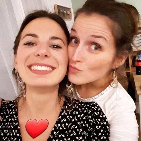 Lucie et Elise