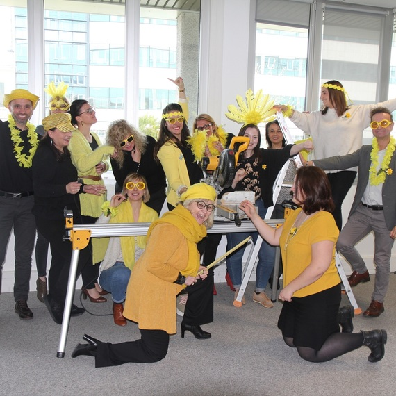 La Team Com Swiss Life s'engage contre le cancer