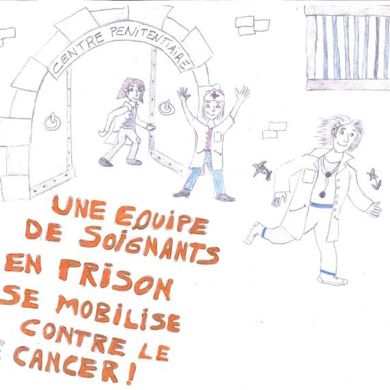 Une Equipe de soignants en prison se mobilise contre le cancer