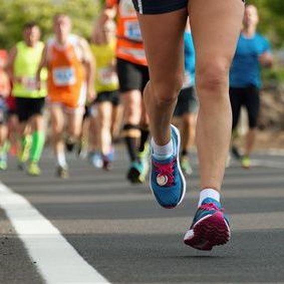 course de la jonquille Aurélie