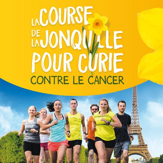 JE COURS 10 KM POUR VAINCRE LE CANCER !