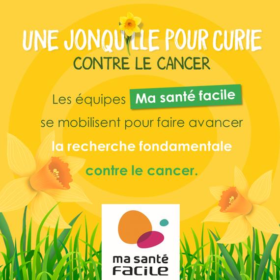 L'équipe Grand Lyon Ma santé facile s'engage contre le cancer