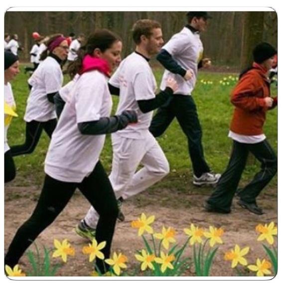 La course de la Jonquille, pour faire fleurir l'espoir contre le cancer...