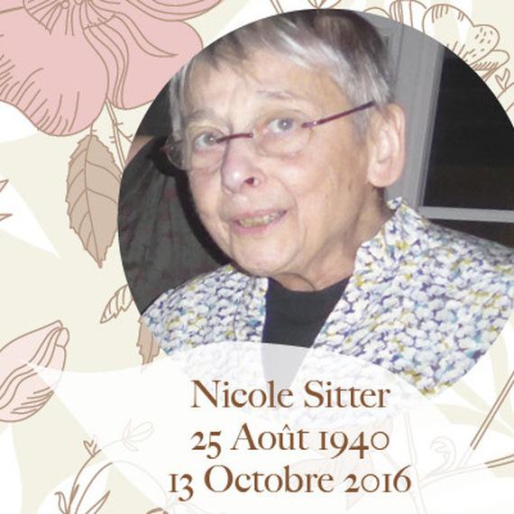 Hommage à Nicole Sitter