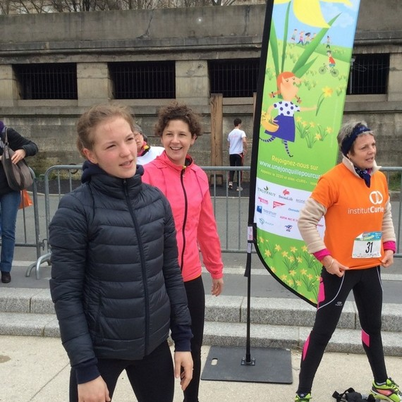 RUNNING FOR CURIE - let's beat cancer together