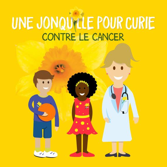 Une Jonquille pour Curie Contre le Cancer