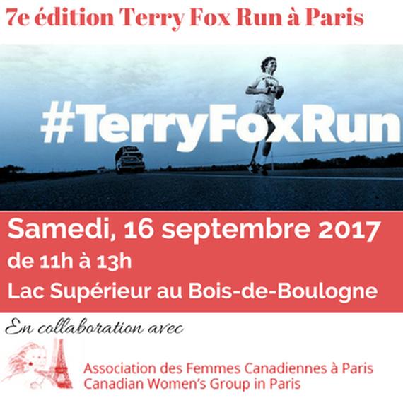 Terry Fox Run Paris 2017