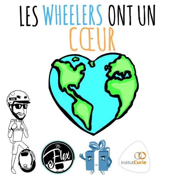 Tour du monde en gyroroue de M Flex pour Curie
