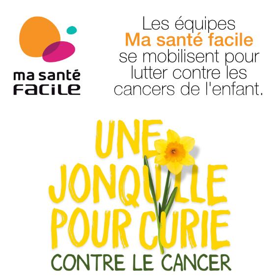 L'équipe Ma santé facile s'engage contre le cancer !