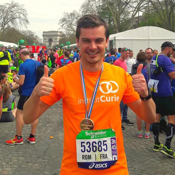 Courir pour Curie - Marathon de Paris 2019