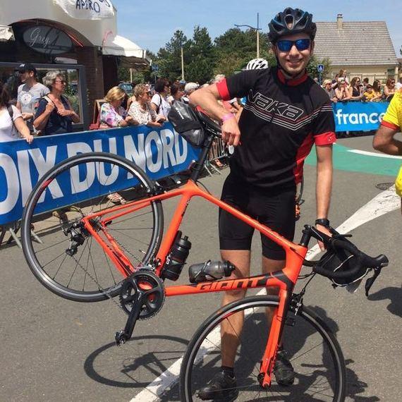 Pierric CHARLES / Atos Tour 2018  / 470 kilomètres en vélo pour lutter contre le cancer !
