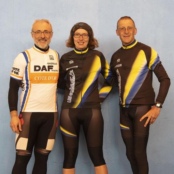 Fabrice,  Nadine & Eric unis contre le cancer à l'ATOS Tour 2019
