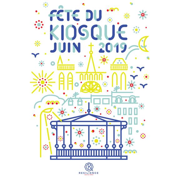 La Fête du Kiosque à Amiens 2019 - association Résilience