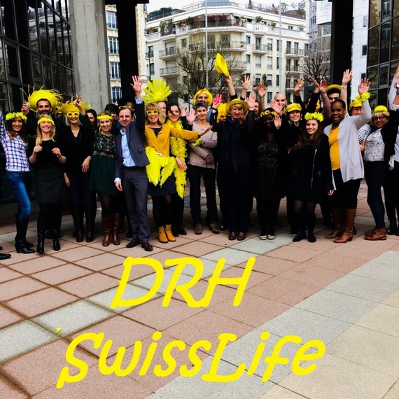 Les Ressources Humaines Swiss Life s'engagent pour Curie