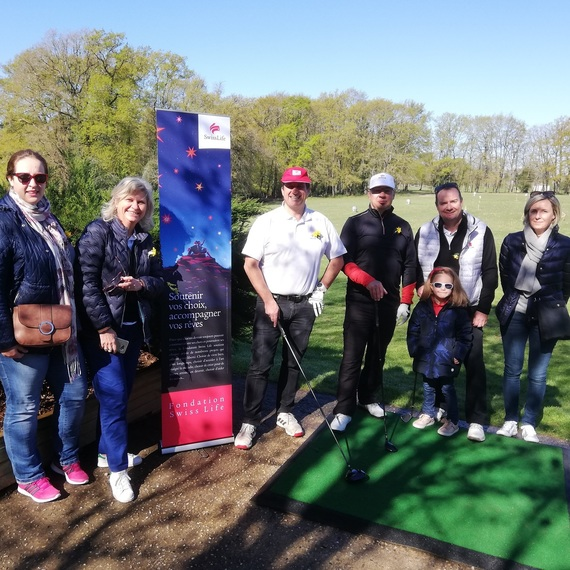 Tournoi de golf solidaire à Saintes - Agence Swiss Life Devin